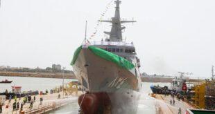 السعودية تدشن سفينة حربية متطورة.. تعرف على قدراتها