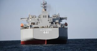 روسيا.. وصول سفينتين حربيتين إيرانيتين في مهمة