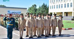 قائد كلية الملك عبدالعزيز الحربية يحضر حفل تخريج طلبة القوات البرية السعودية المبتعثين بروسيا
