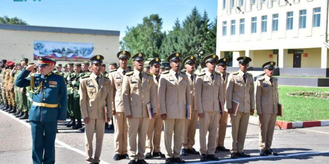 حفل تخريج طلبة القوات البرية الملكية السعودية المبتعثين بروسيا