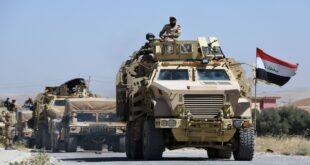 مدرعات تابعة للجيش العراقي