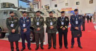 """وفد عسكري كويتي رفيع يشارك في """"معرض IDEF """"2021"""