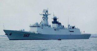 """سفينة حربية من طراز """"Type-054A"""""""