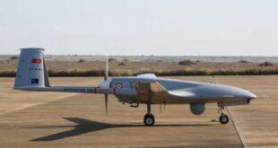 """طائرة عسكرية بدون طيار تركية الصنع من طراز """"بيرقدار تي بي 2"""""""