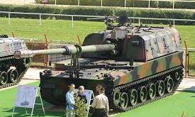 مدفع k-9 THUNDER أو الرعد