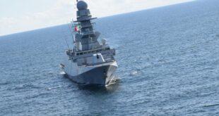 الفرقاطة مارتينينجو التابعة للبحرية التابعة للبحرية الايطالية