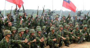 عناصر من الجيش التايواني